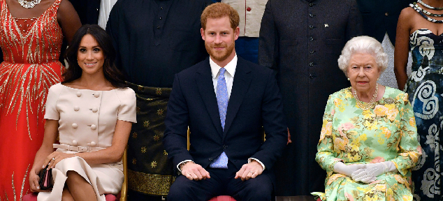 Isabel II se reunirá con los Duques de Sussex