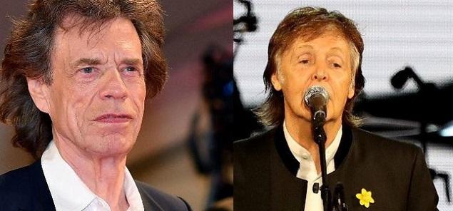 Jagger vs McCartney: ''¿Los Beatles mejores que nosotros? Sin embargo todavía llenamos los estadios''