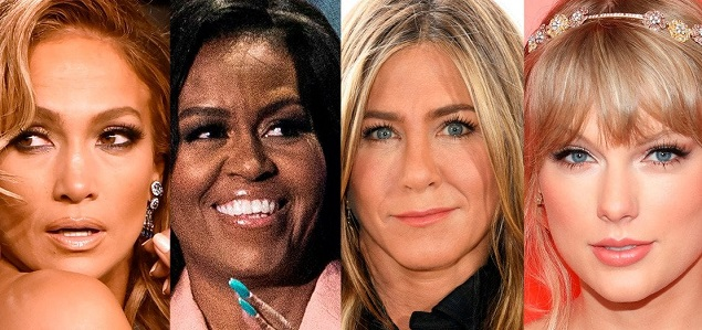 Jennifer Lopez, Jennifer Aniston, Michelle Obama y Taylor Swift elegidas ''People of the Year 2019''