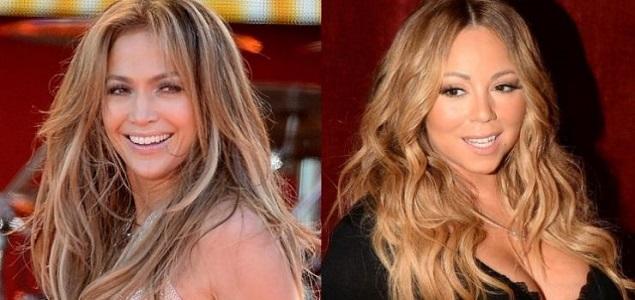 Jennifer López no puede resistir la tentación y se burla de Mariah Carey