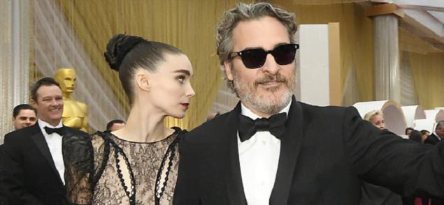 Joaquin Phoenix y Rooney Mara estarían en la dulce espera
