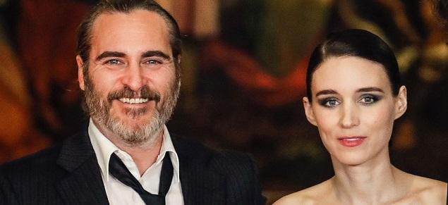 Joaquin Phoenix y Rooney Mara fueron padres