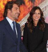 Julia Roberts habría tenido un romance con Javier Bardem.