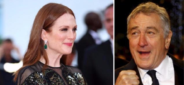 Julianne Moore y Robert De Niro juntos en una serie de televisión