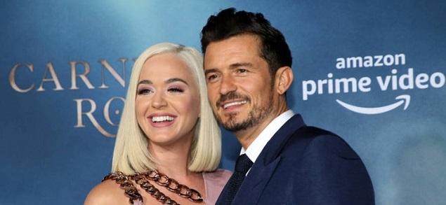 Katy Perry y Orlando Bloom se encuentran en la dulce espera