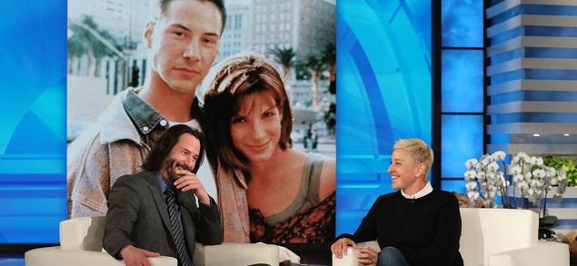 Keanu Reeves admitió haber estado enamorado de Sandra Bullock