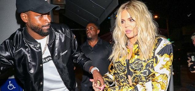 Khloé Kardashian vuelve con su novio