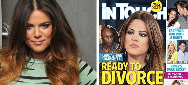 Khloe Kardashian y el fin de su matrimonio