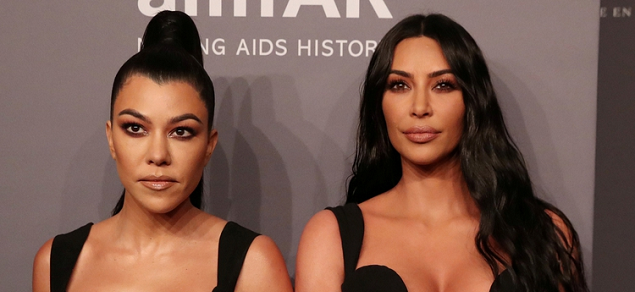 Kim Kardashian amenaza con despedir a su hermana Kourtney