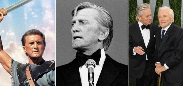 Kirk Douglas cumple 103 años, es el ganador masculino del Oscar más longevo