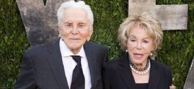 Kirk Douglas y Anne Buydens, la pareja más longeva de Hollywood