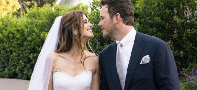 La boda de Chris Pratt y Katherine Schwarzenegger