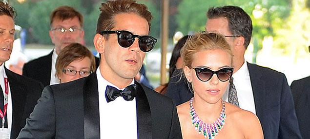 La boda de Scarlett Johansson y Romain Dauriac