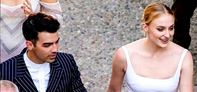 La boda de Sophie Turner y Joe Jonas