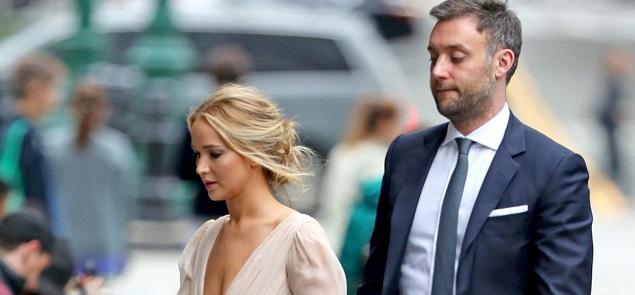 La fiesta de compromiso de Jennifer Lawrence