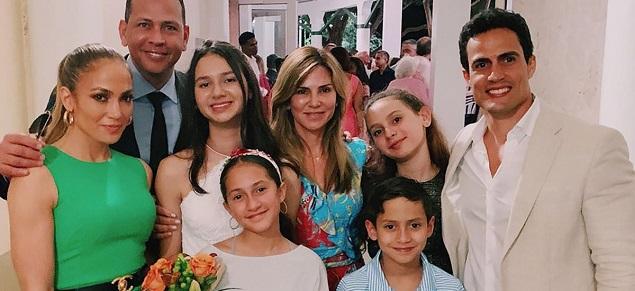 La foto familiar de la familia Rodriguez
