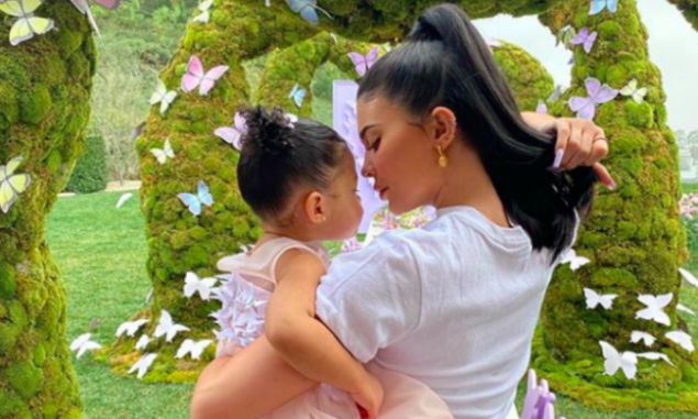 La lujosa fiesta de cumpleaños de la hija de Kylie Jenner