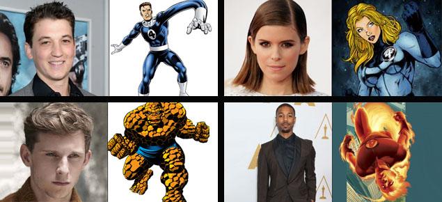 """La nueva versión de """"Los 4 fantásticos"""" ya tiene su elenco"""