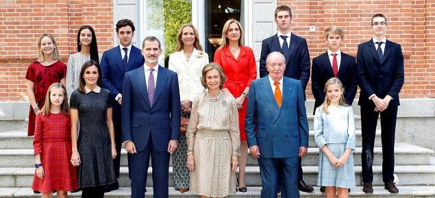La reconciliación de los reyes de España con la Infanta Cristina
