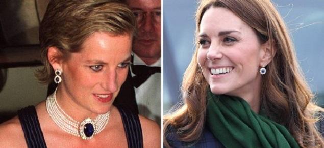 Lady Diana, que hicieron Meghan y Kate con las joyas de la madre de William y Harry?