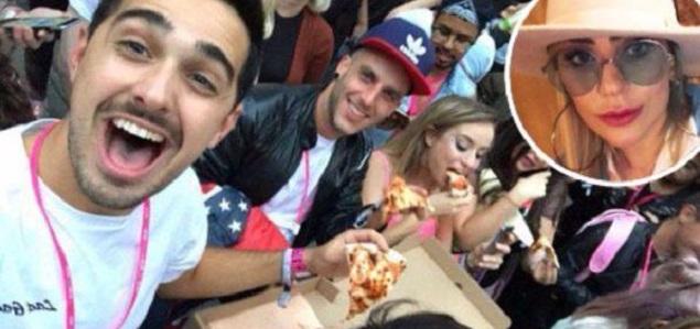 Lady Gaga cancela concierto, pero ofrece pizza a sus fans para hacerse perdonar