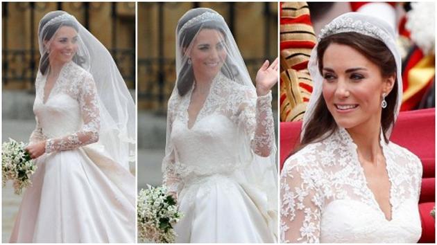 Las famosas y su perfecto vestido de novia - Noticias