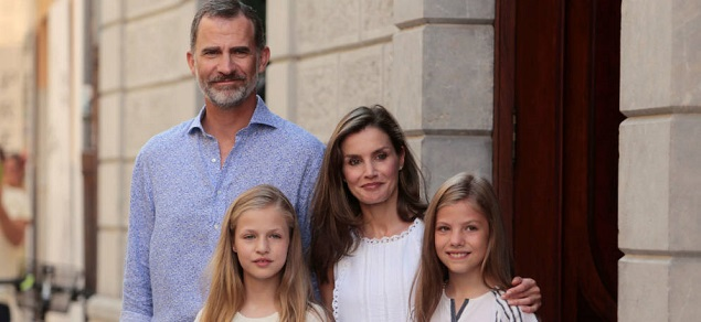 Las vacaciones de los reyes de España