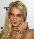 Lindsay Lohan con poca ropa.