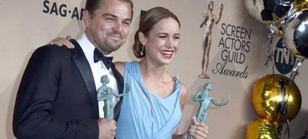 Los actores premian a DiCaprio y Spotlight