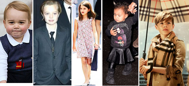 Los hijos de los famosos que ya son iconos del estilo