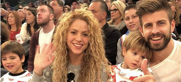 Los hijos de Shakira y Piqué dan que hablar