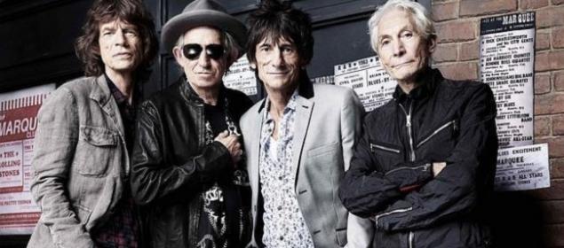 Los Rolling Stones en Paris