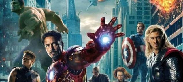 ''Los Vengadores'', primera en la taquilla.