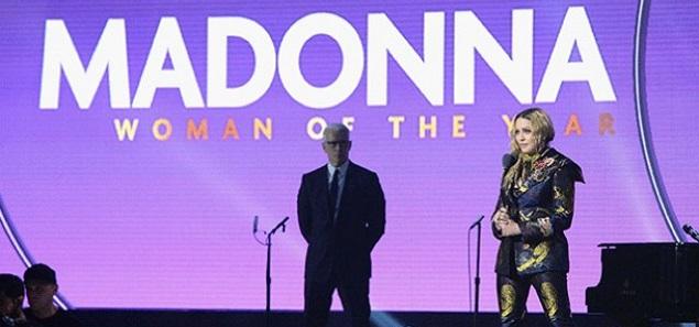 Madonna es la mujer del año para Billboard