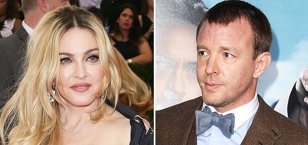 Madonna y Guy Ritchie en la corte por la custodia de se hujo