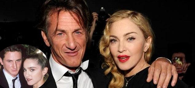 Madonna y Sean Penn juntos