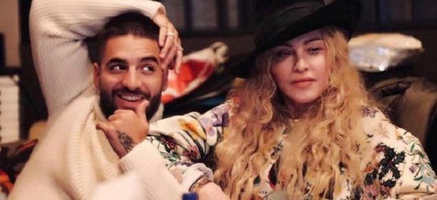Maluma y Madonna, juntos en Lisboa