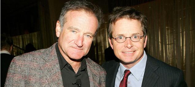 Michael J. Fox expresa su sorpresa por la enfermedad de Robin Williams