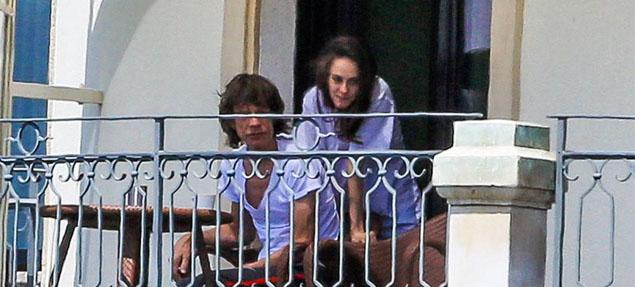 Mick Jagger nuevamente en pareja