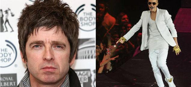 Noel Gallagher vs. Justin Bieber