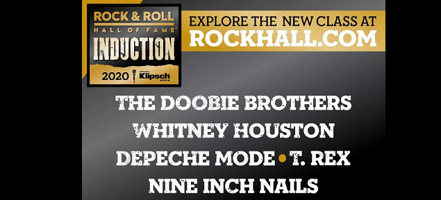 Nuevos ingresos al Salón de la Fama del Rock'n'roll