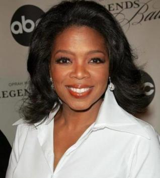 Oprah, la más generosa.