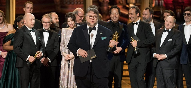 Oscar 2018: Triunfa ''La forma del agua'' de Guillermo Del Toro