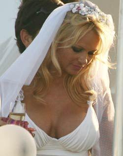 Pamela Anderson: una novia costosa.