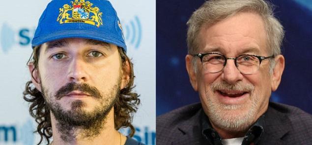 Primero ataca ahora se retracta: la controversia LaBeouf-Spielberg
