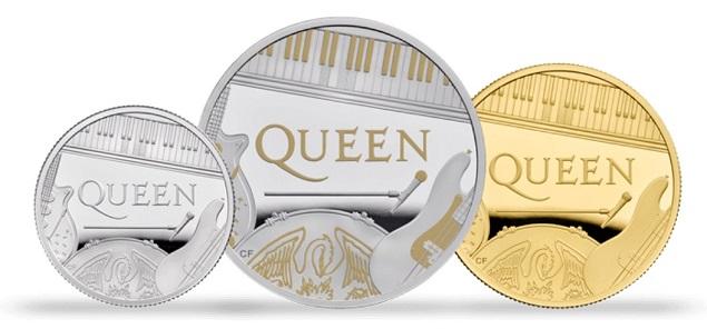 Queen es la primera banda en aparecer en monedas británicas