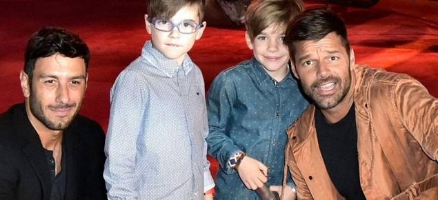 Ricky Martin fue papá