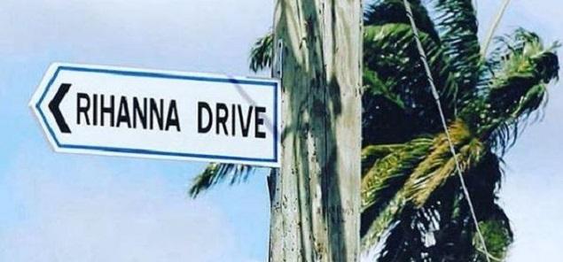 Rihanna ya tiene su propia calle en Barbados