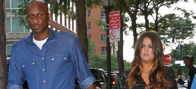 Rumores de divorcio entre Khloe Kardashian y Lamar Odom