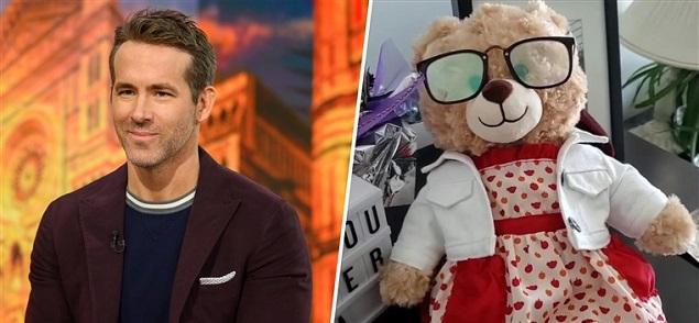 Ryan Reynolds y una recompensa por rescatar un muñeco